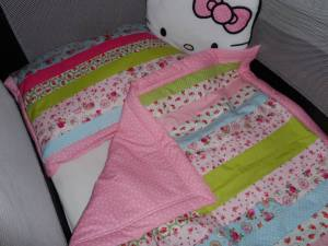 Baby quilt leanne