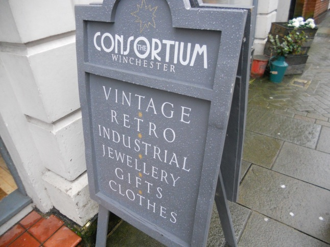 Vintage shop in Winchester!