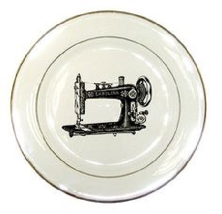 This plate reminds me of my best friend, who is very keen to get her hands on one of these.