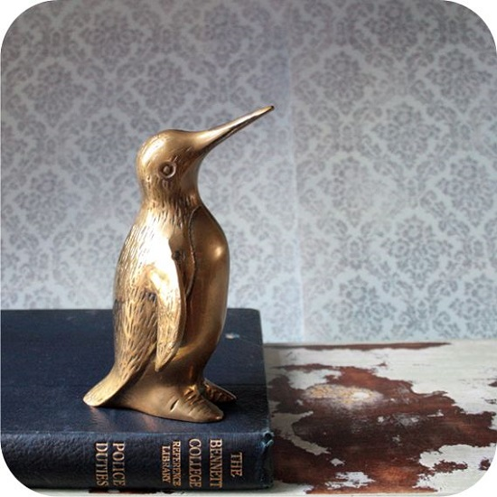 Everyone's a bit in love with penguins at the moment, so I couldn't resist this little guy!