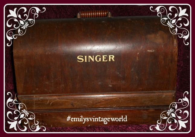 A singer sewing machine in its box!!